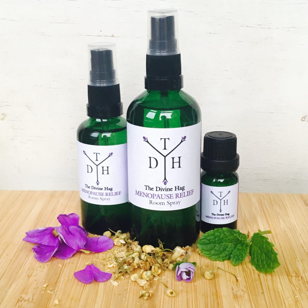 Aromatherapy and The Menopause - The Divine Hag